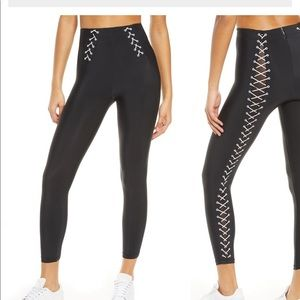Adam selman sport lace up legging NWT